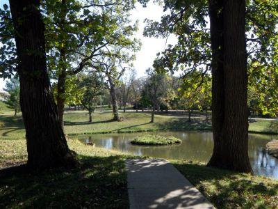 Chautauqua Park, Main course, Hole 2 Tee pad