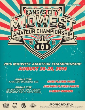 2016 Midwest Amateur Championship presented by Dynamic Discs graphic