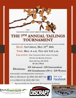 The 7th Annual Tailings Tournament graphic