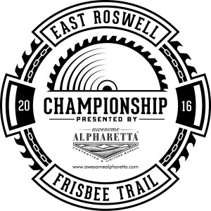 East Roswell Frisbee Trail Championship graphic