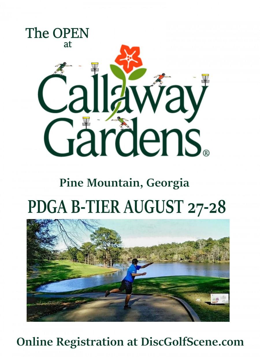 The Open At Callaway Gardens 2016 Columbus Ga Disc Golf Club Disc Golf Scene