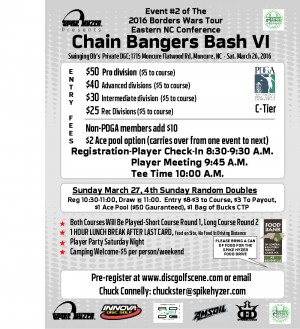 Spike Hyzer's:Chain Bangers Bash VI graphic