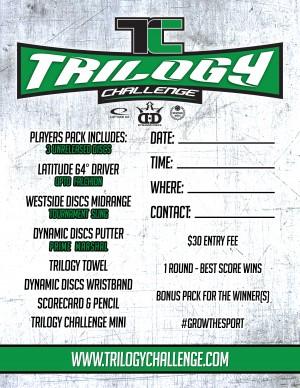Trilogy Challenge @ Bryan McClain Park graphic