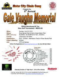 Gale Vaughn Memorial graphic