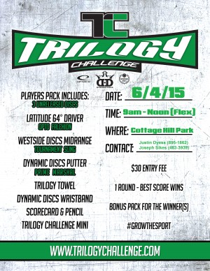 2016 Trilogy Challenge @ Cottage Hill graphic