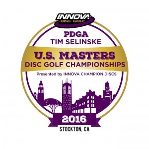 2016 PDGA Tim Selinske US Masters DGC - Presented by Innova Champion Discs graphic