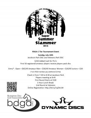 Super Summer Slammer 7 graphic