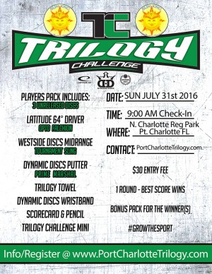 Sun King presents Trilogy Challenge (Port Charlotte) graphic