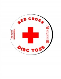 Red Cross Disc Toss graphic