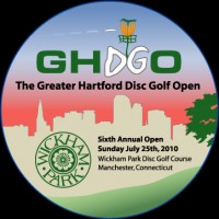 Greater Hartford Disc Golf Open graphic