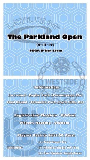 The Parkland Open graphic