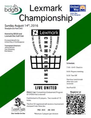 Lexmark Championship graphic