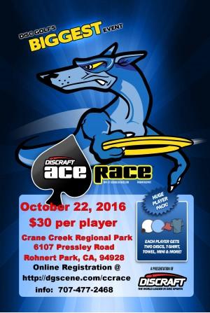 2016 Crane Creek Ace Race graphic
