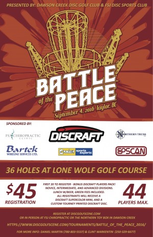 Battle of the Peace graphic
