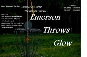 Emerson Throws Glow graphic