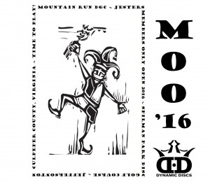 "Jesters ""Members Only"" Open (MOO) graphic"