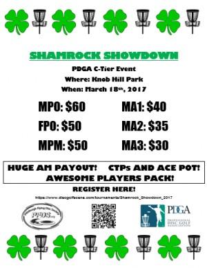 Shamrock Showdown graphic
