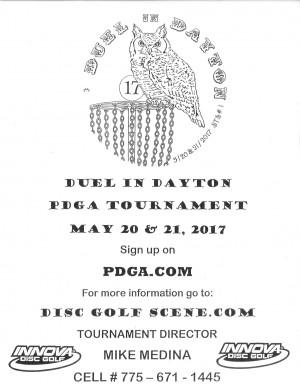 Duel in Dayton graphic