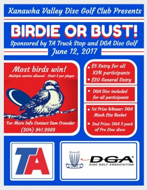 Birdie or Bust at the TA graphic