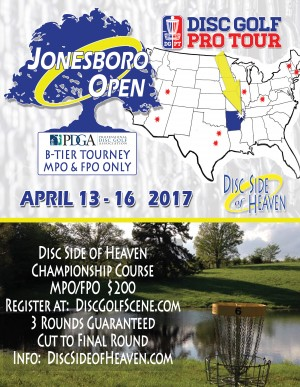 Jonesboro Open - Disc Golf Pro Tour graphic