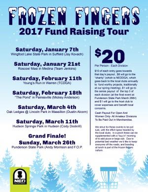 NEO 2017 Frozen Fingers On The Fairway Tour: Stop #4 Painesville graphic
