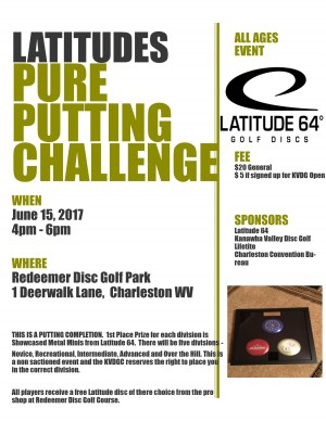 "Latitudes ""Pure"" Putting Challenge graphic"