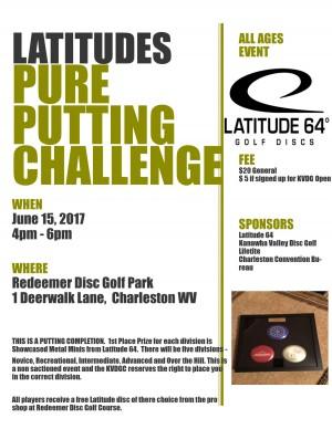 "Latitudes ""Pure"" Putting Challenge graphic"