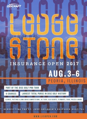 Ledgestone Insurance Open presented by Discraft graphic
