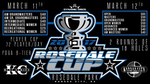 2017 Dynamic Discs Rosedale Cup (Pro/Adv) graphic