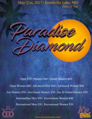 2017 Paradise Diamond graphic