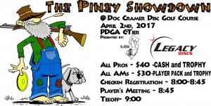 The Piney Showdown Presented by Legacy Discs graphic