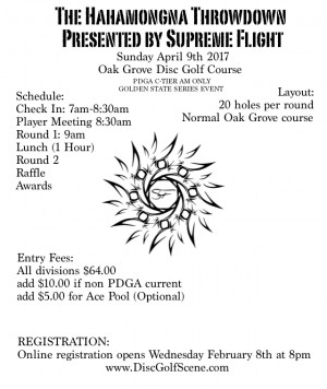 The Hahamongna Showdown Presented by Supreme Flight graphic