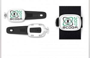 SCDGA Bag Tag BBQ graphic