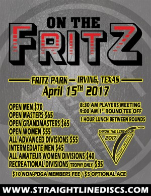 On The Fritz - Throw the Line Tour Event graphic