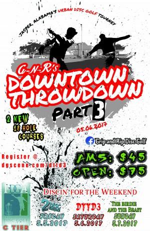 Downtown Throwdown Part 3 graphic
