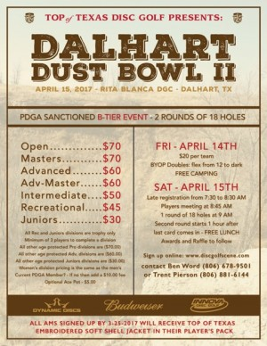 Dalhart Dust Bowl II graphic