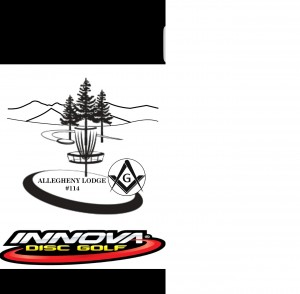 Alleghany Lodge 114 F&AM charity Doubles Tournament presented by Innova graphic