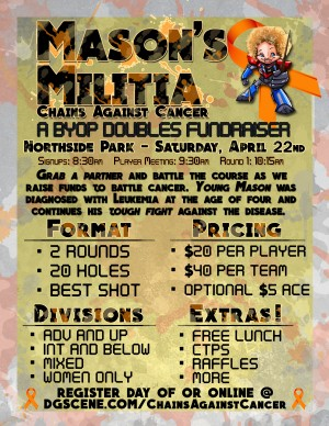 #MasonsMilitia BYOP Tournament - Chains Against Cancer graphic
