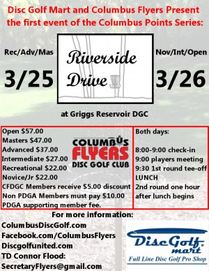 Riverside Drive - Columbus Points Series #1 graphic