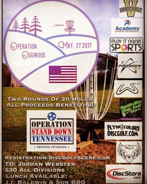 Operation OggWood Charity Disc Golf Tournament graphic