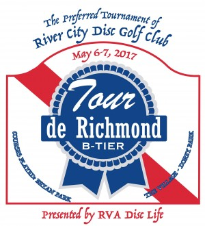 2017 Tour De Richmond Sponsored by RVA Disc Life- All Other Amateur Divisions graphic