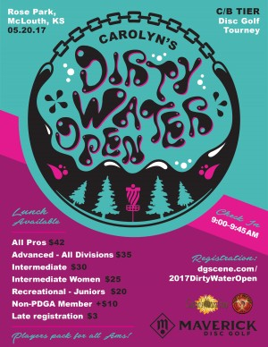 Maverick DG: Carolyn's Dirty Water Open 2017 graphic