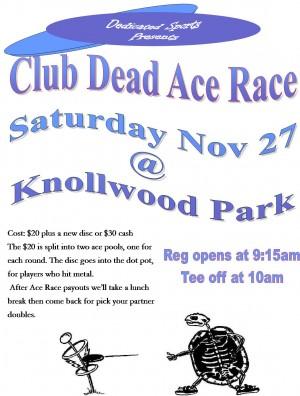 Club Dead Ace Race graphic