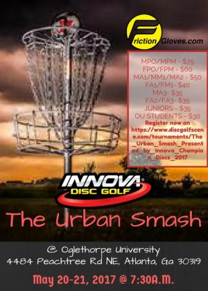 The Urban Smash Presented by Innova Champion Discs graphic