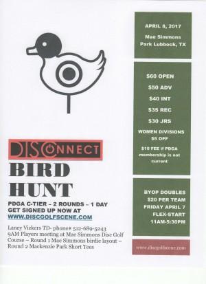 DISConnect Birdhunt graphic