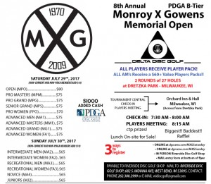 8th Annual Monroy X Gowens Memorial Open Int/Rec/Novice/Junior Day graphic