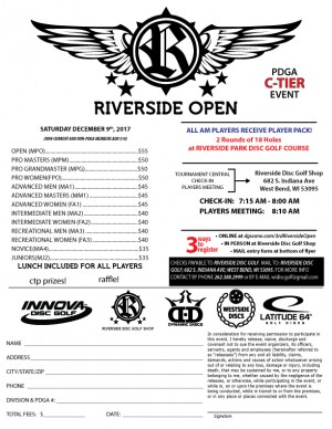 3rd Annual Riverside Open graphic