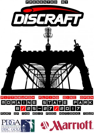 Pittsburgh Flying Disc Open Presented by Discraft graphic