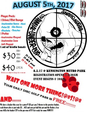 5th annual Cancer Cup presented by Broken Chains graphic