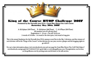 Kings of the Course BYOP Challenge 2017 graphic